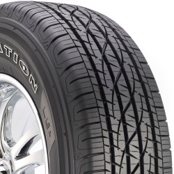 The Firestone Destination LE 2, Firestone's Highway All-Season light truck tire, was developed for the drivers of light-duty pickups, vans, crossovers and sport utility vehicles. It is designed to combine long wear, a comfortable ride and all-season traction, even in light snow.