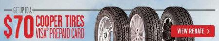 Cooper Tire Fall Event Promotion 2014
