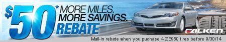 Falken More Miles More Savings Summer 2014