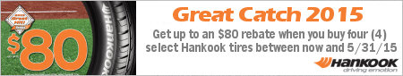 Hankook Tire Great Catch Promotion 2015