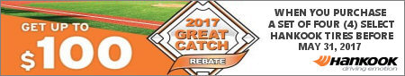 Hankook Tire Great Catch Promotion 2017