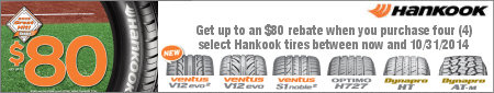 Hankook Tire Great Hit Promotion 2014