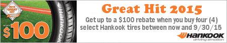 Hankook Tire Great Hit Promotion 2015