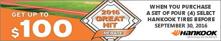 Hankook Tire Great Hit Promotion 2016