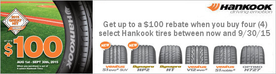 Hankook Great Hit Promotion 2015